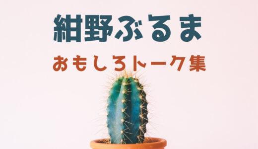 【下ネタ注意】  紺野ぶるまの面白いトーク、天才的な下ネタ謎かけ、まとめ27選!!