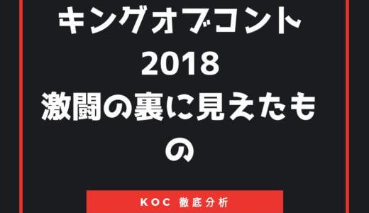 『キングオブコント2018』最終結果の順位、優勝者ハナコとファイナリストたちを徹底分析!!